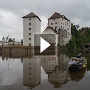 Rekordhochwasser in Passau am 04.06.2013