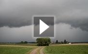 Gewitterfront zieht über Süddeutschland